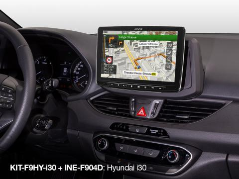 Built-in-iGo-Primo-Navigation-Map-in-Hyundai-i30_INE-F904D_with_KIT-F9HY-i30