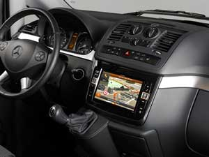 Alpine Style | Navigation System for Mercedes Vito (639) and Viano (639) - X800D-V
