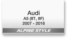 Alpine Style for A5 (8T, 8F) 2007-2016