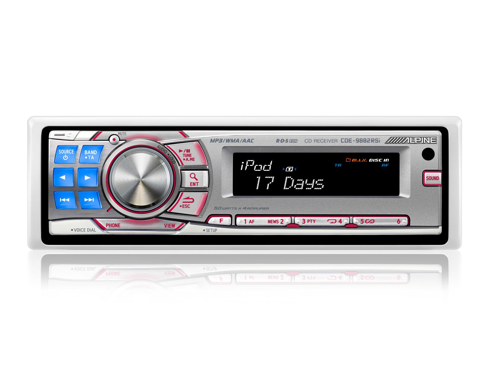 CD RÁDIÓERŐSÍTŐ / USB ÉS iPod® VEZÉRLŐ - Alpine - CDE-9882Ri