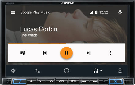 Works with Android Auto - X802D-UA