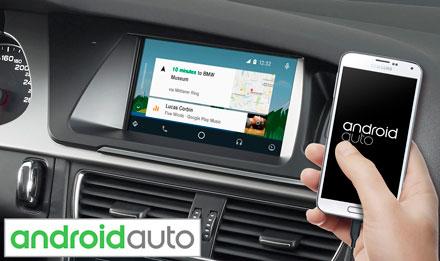 7 inch-es érintőképernyős navigáció Audi A5 részére TomTom