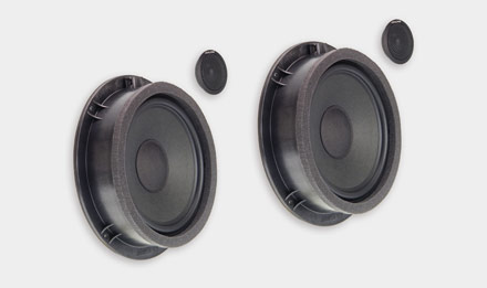 Audi Q5 - SPC-100AU 2-way High-end Front Speaker System Upgrade