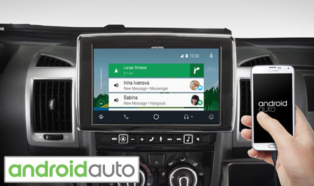 Ducato, Jumper and Boxer - Works with Android Auto - i902D-DU