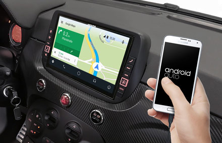 Online Navigation with Android Auto - X902D-F