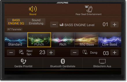 Bass Engine SQ Sound tuning - Navigation System X902DC-F