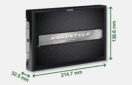 Freestyle solution for custom installs - Navigation System X902DC-F