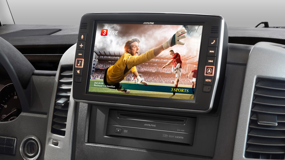 Mercedes Sprinter - Big Screen Entertainment - X902D-S906