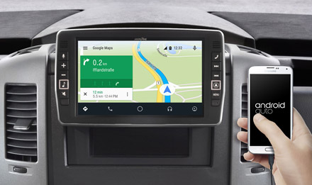 Online Navigation with Android Auto - X902D-S906