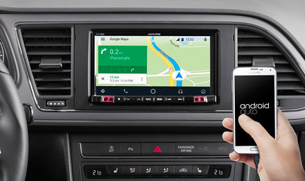 Online Navigation with Android Auto - iLX-702LEON
