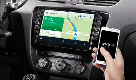 Online Navigation with Android Auto - i902D-OC3