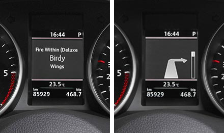 Golf 6 Driver Information Display X902D-G6