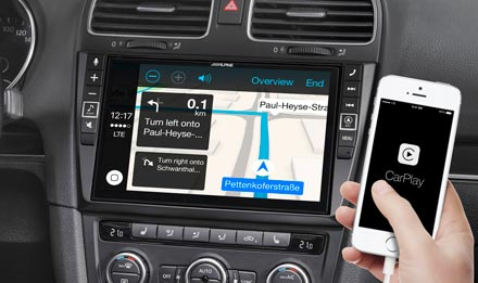 Online Navigation with Apple CarPlay - X902D-G6