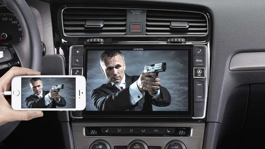 Golf 7 - Big Screen Entertainment - X901D-G7