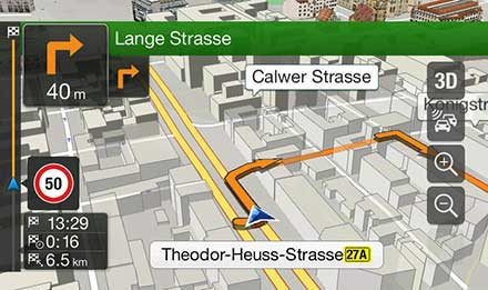Golf 7 - Navigation - 3D Maps  - X901D-G7
