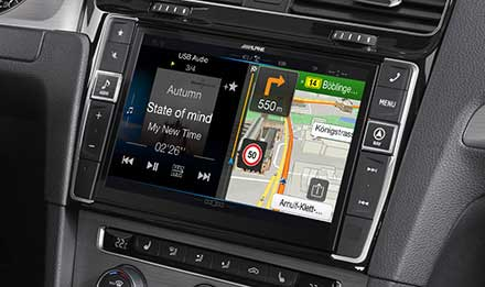 Golf 7 - Navigation - One Look Display  - X901D-G7