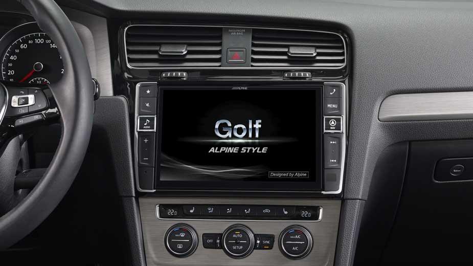 Golf 7 Navigation - Opening Screen - X901D-G7
